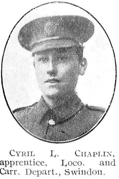 Profile picture for Cyril Lawrence Chaplin