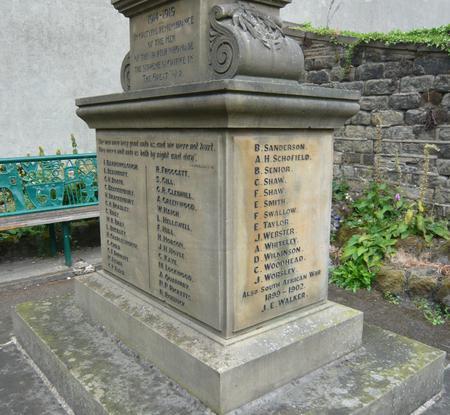 Netherthong Parish War Memorial