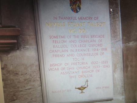 Profile picture for Rev. Neville Stuart Talbot,
