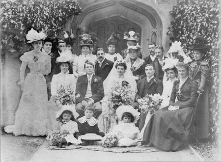 Rupert's sister Annie's wedding