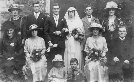 Rupert's Wedding 6th July 1922