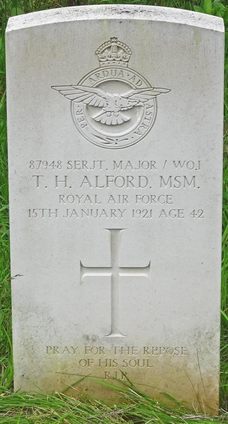 Profile picture for Thomas Henry Alford, M.s.m.