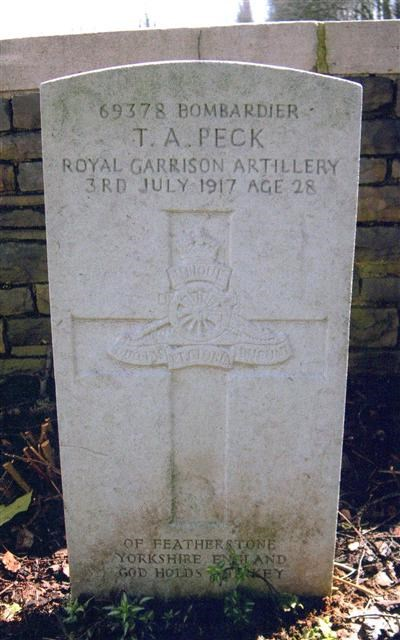 Profile picture for Thomas Alfred Peck