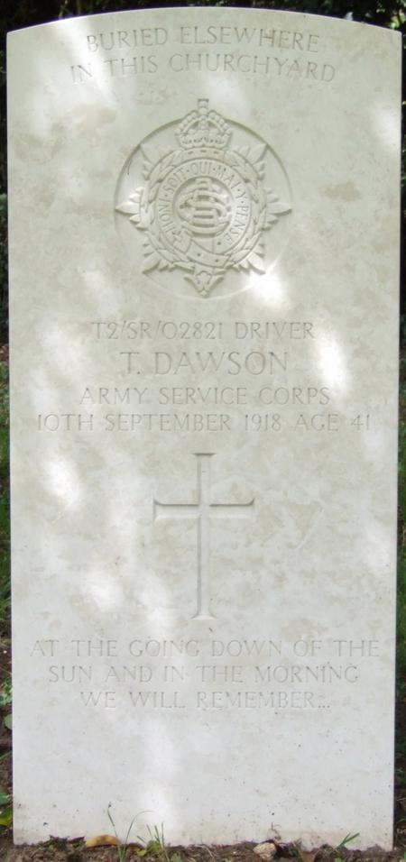 Profile picture for Thomas Dawson