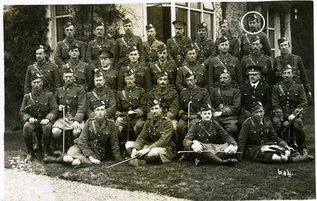Officers Group Photograph Bedford