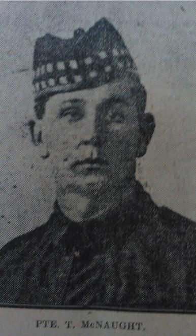 Portrait of T, McNaught