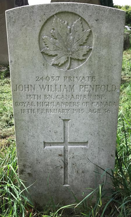 Profile picture for John William Penfold