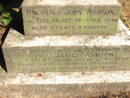Inscription on headstone