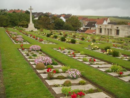 Wimereux Communal Cemetery, Pas de Calais 4
