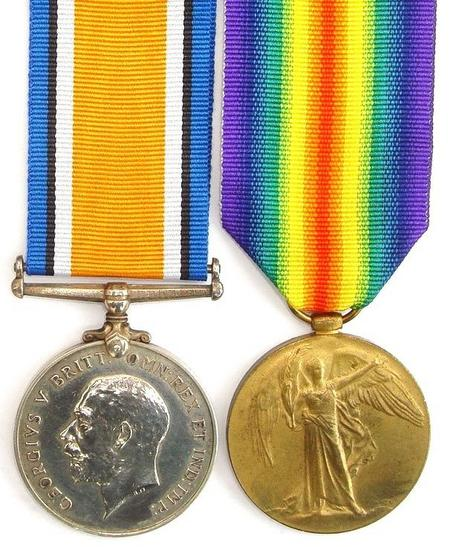 BWM and Victory Medal