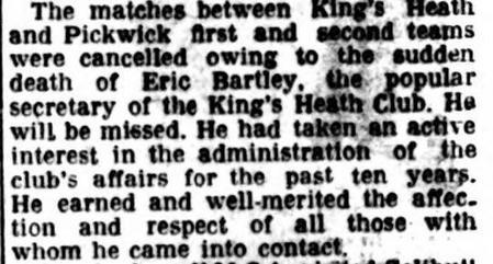 Kings Heath Hockey club