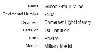 Profile picture for Gilbert Arthur Miles