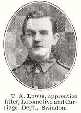 Profile picture for Thomas Arthur Lewis