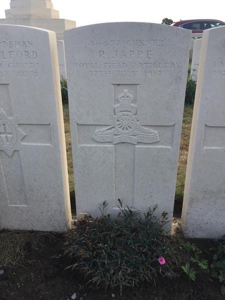 Grave of Robert Jappe