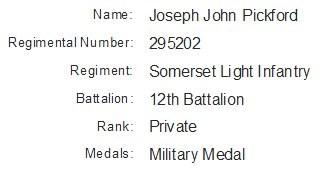 Profile picture for Joseph John Pickford