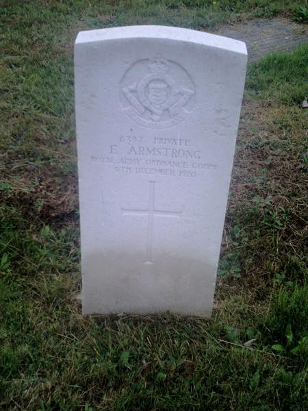 Profile picture for Ernest Armstrong