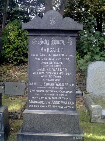 Profile picture for Samuel Edgar Walker