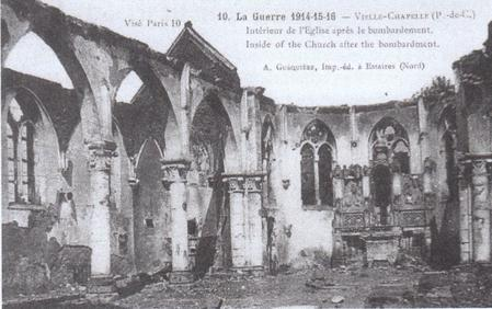 Vieille Chapelle after the first bombardment