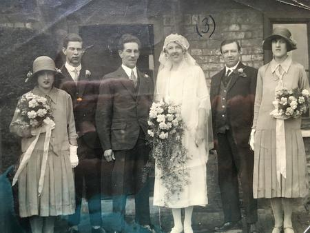 Marriage of Bernard Halsey and Edith Janes
