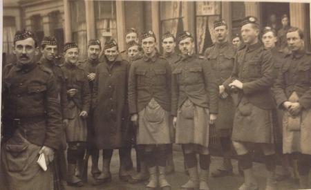 Boys of 10th Battalion Liverpool Kings Regiment