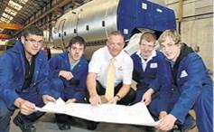Apprentice Engineers at Cochran(e) Company today