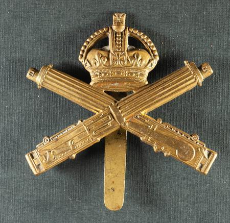 Machine Gun Corps cap badge