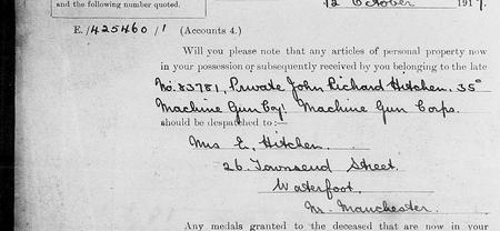 Service Record and Church Record