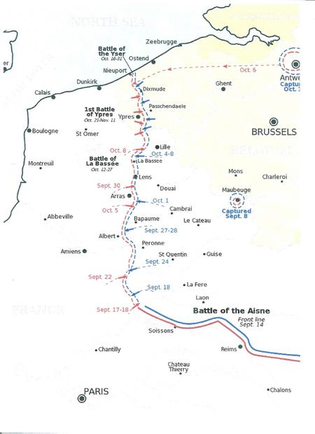 Map of the Field of Conflict