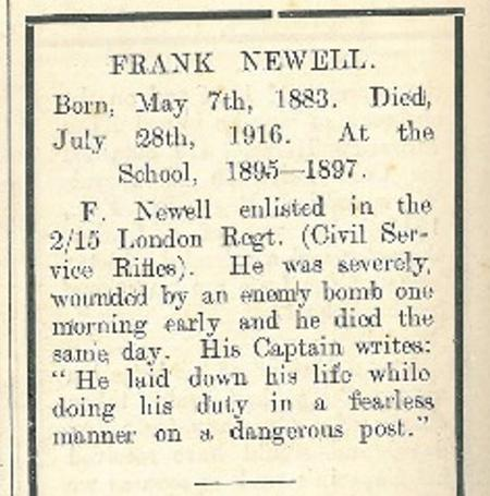 Profile picture for Frank Newell