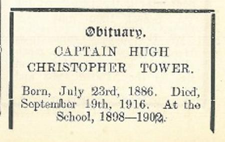 Profile picture for Hugh Christopher Tower