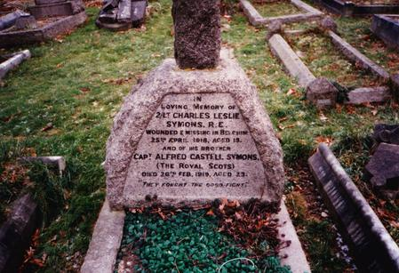 Alfred's grave