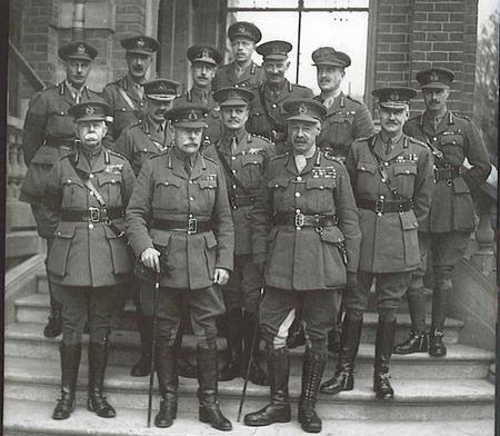 Haig & his Commanders 1918