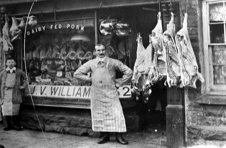 Typical Pork Butcher's Shop