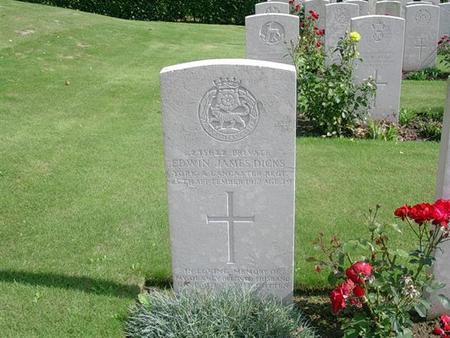 edwin's memorial stone