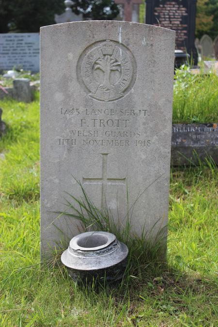 The Grave of Frank Trott