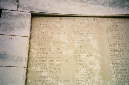 Tyne Cot Inscription
