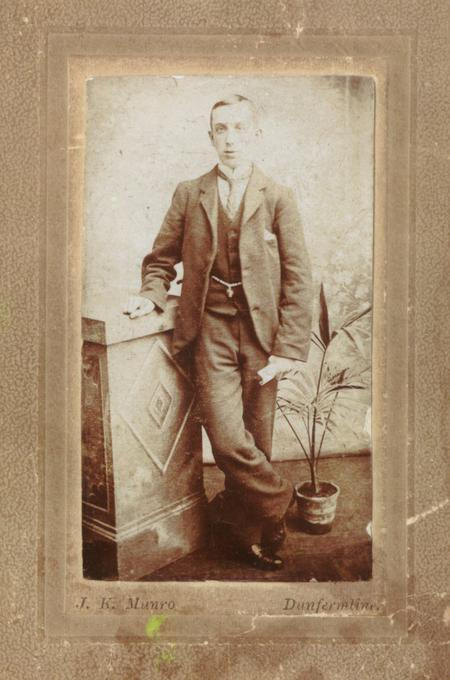 William Henry Stewart - Young Man