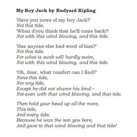 'My Boy Jack'
