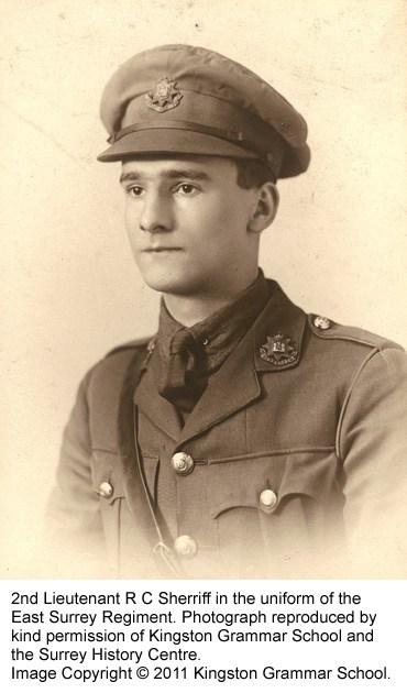 2nd Lt R C Sherriff