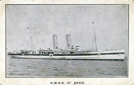Cross Channel Hospital Ship