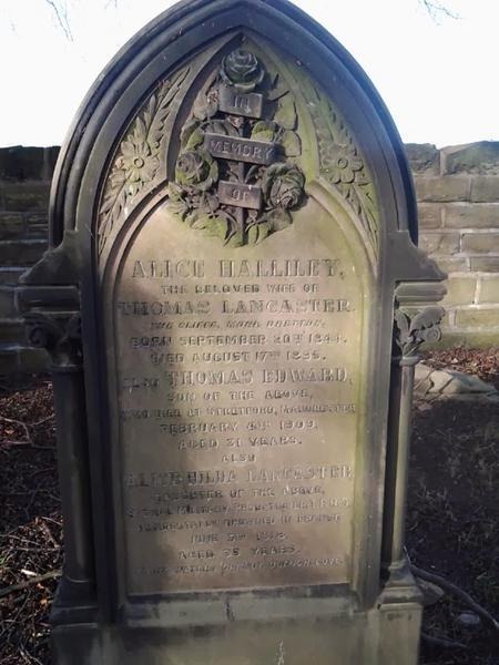 Profile picture for Alice Hilda Lancaster