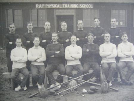 RAF Physical Training 1918