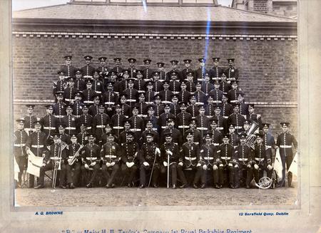 Private John Edwin Coggins, Dublin, 10th May 1907