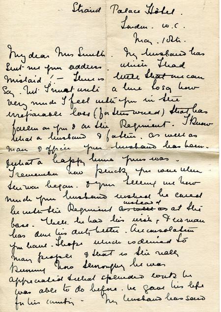 Mrs Langs original letter p1
