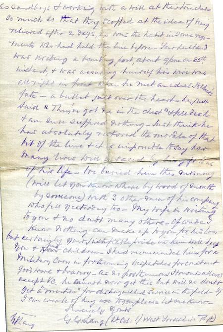 Lt Col Langs original letter p2