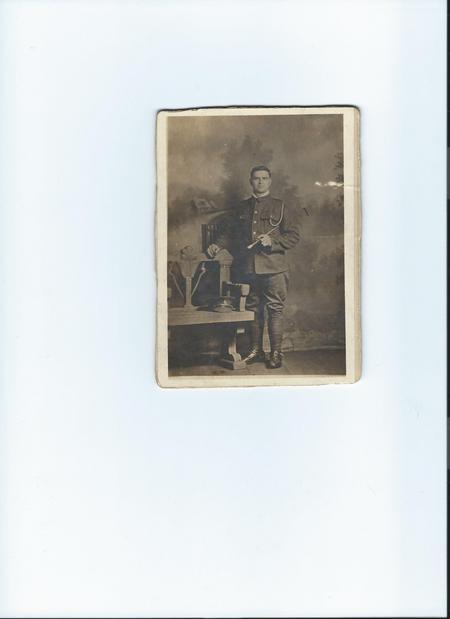 Driver James Barker, Royal Field Artillery