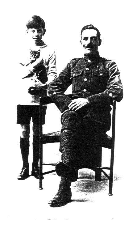 Robert William Daykin with his son Jack