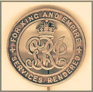An example of a Silver War Badge