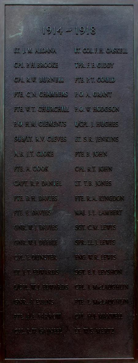 Porthcawl War Memorial