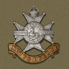 Sherwood Foresters cap badge